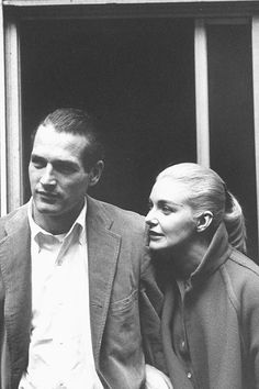 Paul Newman & Joanne Woodward, photographed by Gordon Parks, 1959.