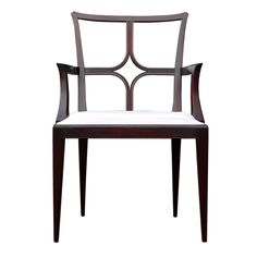 Rare Set of 8 Dining Chairs by Tommi Parzinger for Charak  USA  1950  A rare set of 8 dining chairs by Tommi Parzinger for Charak Modern. Stunning high style modern with a regency flair works well in both traditional and modern settings.