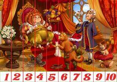 Puzzles recortables con motivos de cuentos. Estos puzzles son muy fáciles de hacer porque están acompañados de números. Mírame y aprenderás en Facebook Fairy Tales, Preschool, Pictures, Collection, Facebook, Puzzle Games, Type 3, Wonderland, Activities