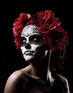 Sugar Skull Makeup Ideas | 17 Amazing Día de los Muertos Sugar Skull Make-up Art – DesignSwan ...