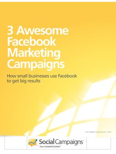 3 Awesome #Facebook Marketing Campaigns #smm