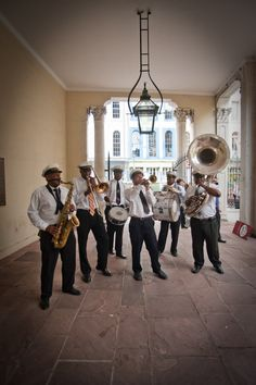 Taking you back to Nawlins with the Zataran's Band. The Zataran's Band plays it all from classic Bourbon street jazz to the Frenchman street go-go.