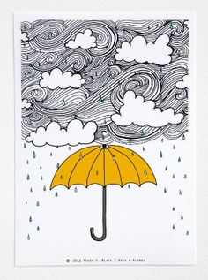LOVE rain and umbrellas!!!
