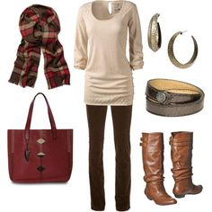 polyvore fall outfits