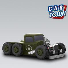 Regresa hoy en Car Town: The Deuce Coupe Tank!! Consigue este robusto low-rider coche de época mientras que usted puede, no siempre va a existir!  03/03/2013