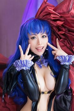 """cosplaygirl:  [妃麗美 ] マクロスFRONTIER: シェリル・ノーム - コスプレCure  """