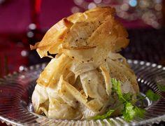 Croustillant de boudin blanc aux morillesVoir la recette du Croustillant de boudin blanc aux morilles