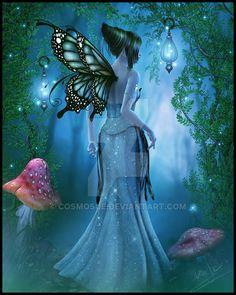 Fairy Illumination by cosmosue.deviantart.com on @DeviantArt