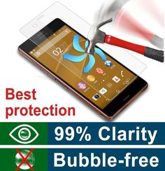 0.3mm 9h Hardness Premium Tempered Glass Screen Protector for Sony Xperia Z3 L55U Real Explosion-Proof/Anti-Scratch