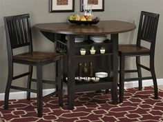 Braden Counter Table with Four Stools