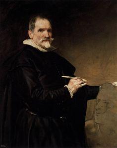 Portrait of the Sculptor, Juan Martinez Montanes - Diego Velazquez