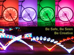 Spokenlights is a high performance LED light system that mounts on your wheels.  It displays 24-bit customizable graphics and patterns. (Thanks for the heads up, @mollymackmack !)