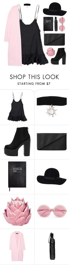 """#930"" by maartinavg ❤ liked on Polyvore featuring Hot Topic, Monki, Sloane Stationery, Zara Home, Wildfox, Rochas and Coach"