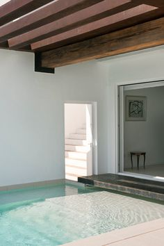House/Pool. Dupli Dos House by Juma Architects. Ibiza, Spain.