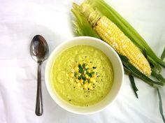 Vanilla & Spice: Summer Avocado Soups