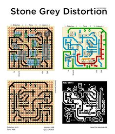 Here's the Stone Grey Distortion from Mad Professor. It's reminiscent of the Distortion +/OD250 circuit, but with a hex inverter stuck after...