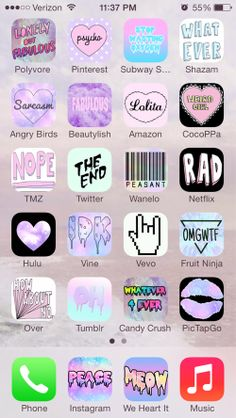 Shared by Gabriella. Find images and videos about love, pink and grunge on We Heart It - the app to get lost in what you love. Pastel Goth Background, Organize Phone Apps, Cute App, Iphone App Layout, Sticker App, Cute Themes, Tumblr Stickers, Phone Organization, Wallpaper App