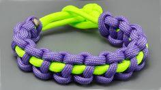 How to make a Thin Solomon Bar paracord bracelet