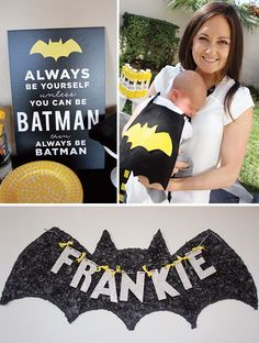 This is such an awesome party! I hope one day I get to have do this!!!: Modern Batman Birthday Party {with DIY Gotham City!}