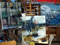 Coastline Workshop at Flamborough Head Interior And Exterior, Coastal, Landscapes, Workshop, Space, Painting, Inspiration, Art, Paisajes