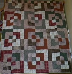 Bento Box quilt Tutorial from Quiltin' Jenny