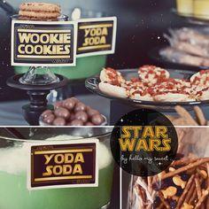 Star Wars Clone Wars SciFi Printable Birthday by HelloMySweet, $12.00