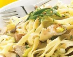 Tagliatelle s houbami Jamieho Olivera - Soucitně Potato Salad, Vegetarian Recipes, Potatoes, Meat, Chicken, Ethnic Recipes, Skirts, Potato, Skirt