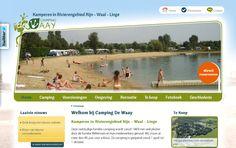 Camping De Waay is gelegen in het hart van het rivierengebied, tussen de Linge en de splitsing van de Rijn en de Waal. - www.de-waay.nl