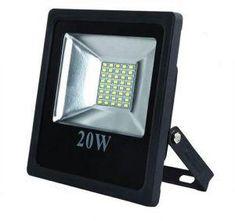 LED Flood Light - 20W  #efficient #lighting #green #futurelight #eco #led #design #solar #sustainable #energy