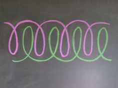 Waldorf ~ 2nd grade ~ Form Drawing ~