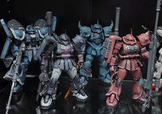 I need more zeon mobile suits : Gunpla Gundam Wing, Gundam Art, Gunpla Custom, Custom Gundam, Big Robots, Gundam Mobile Suit, Unicorn Gundam, Robot Art, Gundam Model