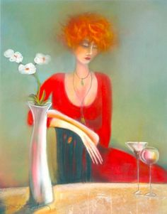 Day Dream by Kate Smith Woman Painting, Painting & Drawing, Redhead Art, Sweet Magic, Kate Smith, Artist And Craftsman, Beautiful Paintings, Love Art, Altered Art
