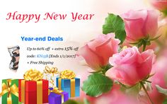 Year-end Deals Up to 60% off + extra 15% off code: KN15B [Ends 1/1/12017] + Free Shipping #kneebrace #happynewyear