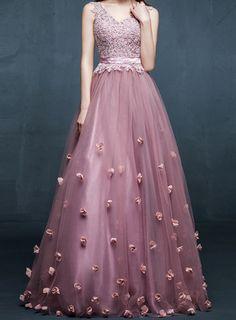 elegant flower evening dress==> here Pre-Valentine's Day Sale back to school sale