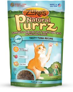 Enjoy Zuke's Natural Purrz Cat Treats Salmon - 3 oz every day at these amazing prices! Zuke's Natural Purrz Cat Treats Salmon Description: Make your cat purr Savory Salmon Recipe, Salmon Recipes, Salmon Cat, Chicken Tender Recipes, Chicken Treats, Moist Chicken, Cat Accessories, Cat Treats, Horse Treats