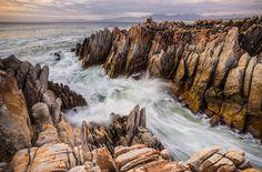 A rocky De Kelders Sunset in South Africa ©Denis Roschlau