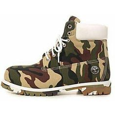 Soldier timberland boots