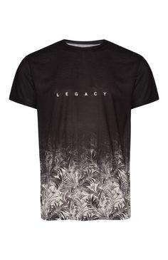 Black Legacy Print T-Shirt