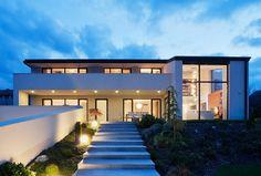 Architema have designed a villa for a family near Budapest, Hungary.