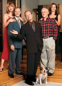 """""""Frasier"""" TV show still see the reruns.funny, FUNNY show! Movies Showing, Movies And Tv Shows, Cinema, Old Shows, Comedy Tv, Great Tv Shows, Vintage Tv, Old Tv, Music Tv"""