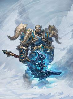 Death knight, Konstantin Turovec on ArtStation at https://www.artstation.com/artwork/death-knight-ef0eaff4-8e8b-4d5b-8f3a-ea66a6fc208f