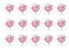 Edible Cake Toppers |Ruby Wedding Decoration Printed edible toppers, perfect for Ruby Wedding Celebrations, cakes, cocktails etc. Can be used as cupcake toppers, cake toppers, cocktail toppers, pie toppers and dessert and icecream decorations. Order today before 10am and qualify for next day delivery. Buy now!