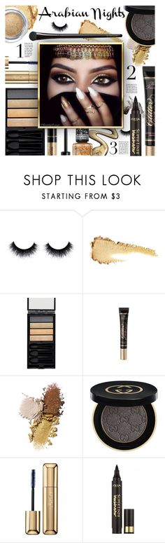 """""""Winter 18 - Make-up Trends"""" by foolsuk ❤ liked on Polyvore featuring beauty, Chanel, John Lewis, Serge Lutens, Too Faced Cosmetics, Gucci, Guerlain, Rimmel and L'Oréal Paris"""