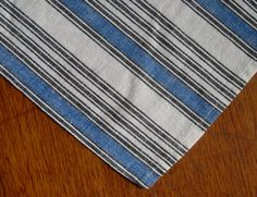 Vintage Swedish Linens: The Blue and White by ClothingForModerns