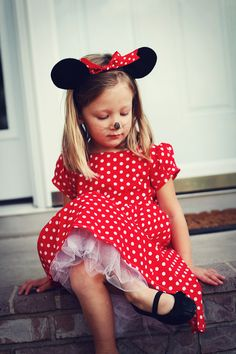 Homemade Kids\' Costumes Inspired by Characters | Minnie mouse ...