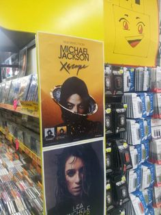 "Michael Jackson's new album ""Xscape"" - promo poster in UK, April 2014"