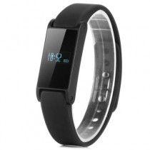 I6 Fashionable USB Smart OLED Bracelet Watch with Steps Time Distance