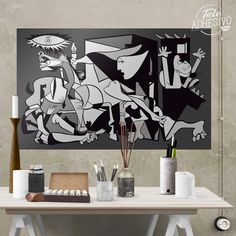 [ Self Adhesive Poster Wall Stickers The Farm Small Sticker ] - Best Free Home Design Idea & Inspiration Picasso, Poster Wall, Wall Stickers, House Design, Inspiration, Free, Decoration, Home Decor, War