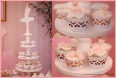 Pink Ballerina Dance Ballet Girl 1st Birthday Party Planning Ideas