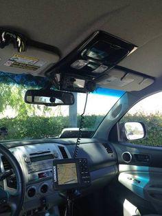 Overhead console custom switch panel - Page 17 - Tacoma World Forums - Ham radio setup